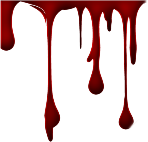 halloween blood splatter effect