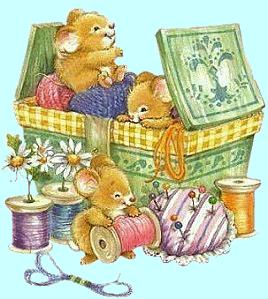 Cucito maglia e ricamo gif e tube - Papel de arroz para decorar muebles ...